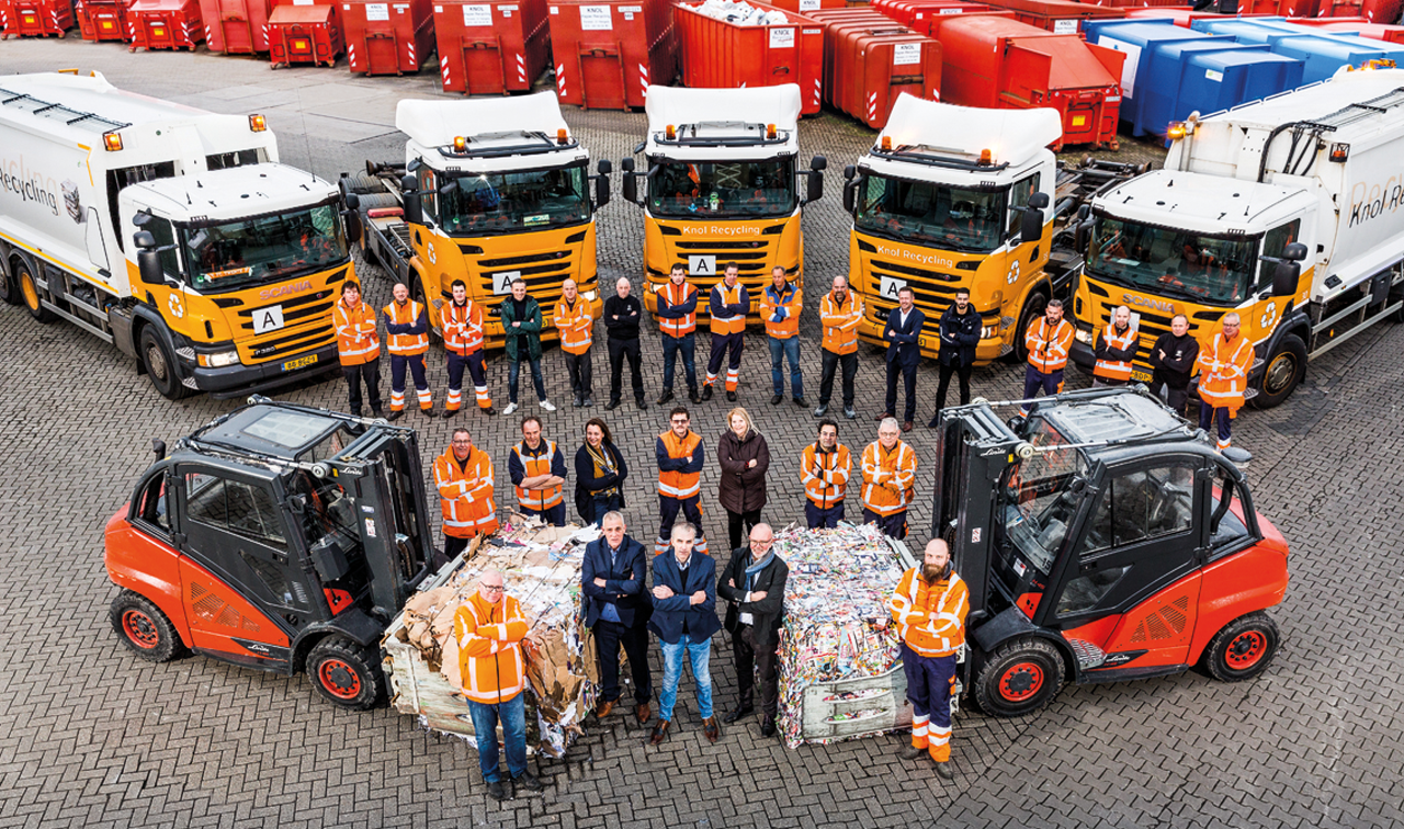 Knol recycling team